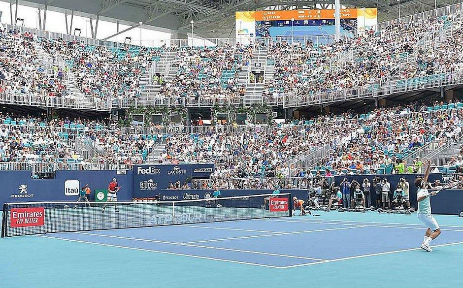 Caso de covid é confirmado na na 'bolha' do US Open