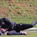Prata da casa, Lucas Arcanjo foi o terceiro goleiro a defender o time principal do Vitória em 2020
