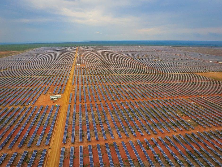 Parque de energia solar em Tabocas do Brejo Velho