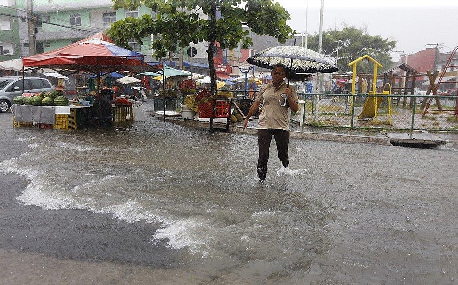 Temporal: cidades do interior do estado sofrem com alagamentos