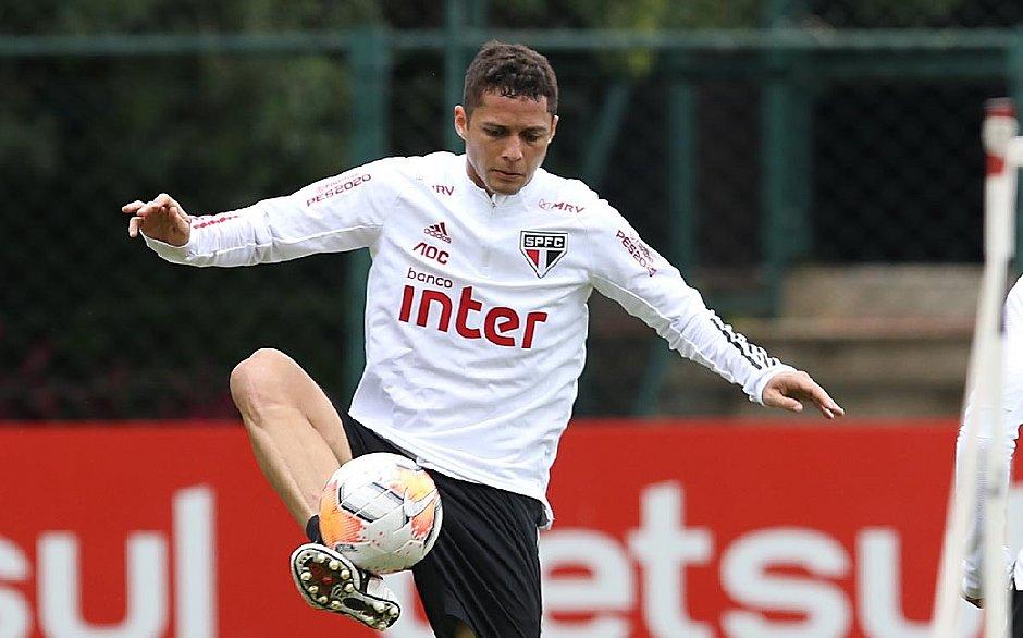 Revelado no Vitória, Anderson Martins estava no São Paulo
