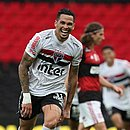 Luciano fechou a goleada do São Paulo sobre o Flamengo