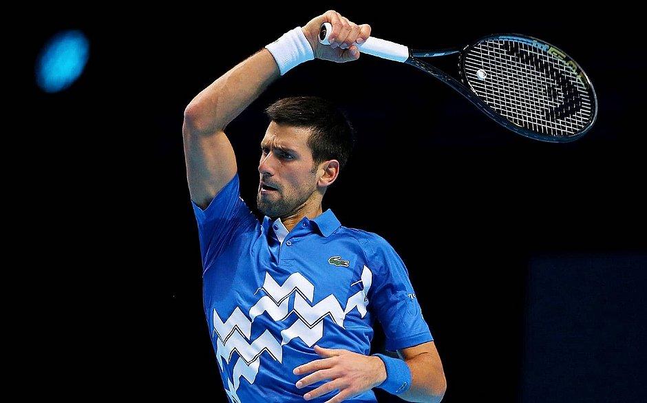 Djokovic fechou 2020 com 12.030 pontos