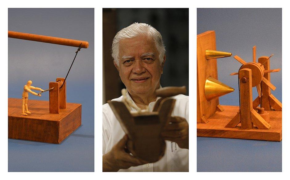 Thales coloca em prática diversas observações e ideias criadas por Da Vinci