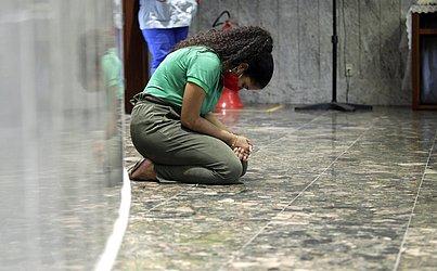 Ao longo do dia festivo, outras duas Missas aconteceram no santuário, que ficou aberto o dia todo para receber os fiéis.