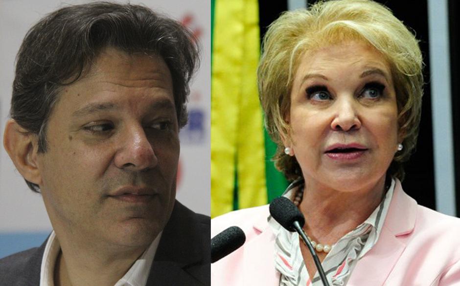 Lula articula chapa com Haddad e Marta para Prefeitura de São Paulo