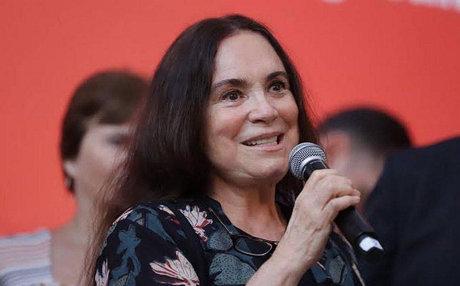 Regina Duarte posta vídeo que critica o 'marxismo cultural'