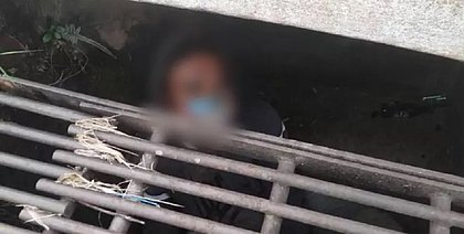 Homem é encontrado dormindo dentro de bueiro em Jundiaí