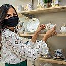 Com a coleção para o Dia dos Namorados, a expectativa de Renata é fechar o faturamento desse mês em R$ 18 mil