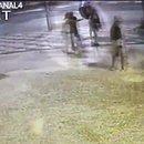 Vídeo mostra agressão a Compadre Washington em assalto (Foto: Reprodução)