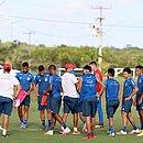 Tricolor iniciou preparação para enfrentar o Goiás, sábado (6), na Fonte Nova
