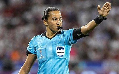 Edina Alves será a primeira mulher a apitar Corinthians x Palmeiras