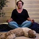 Cômodos da casa se transformaram em salas de meditação