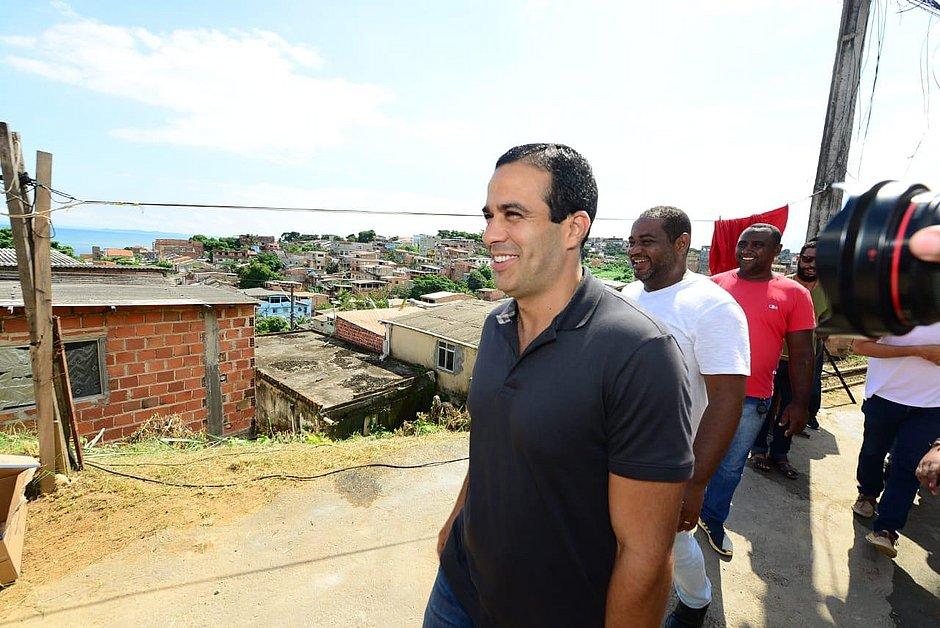 Prefeitura inicia obras em encostas do bairros de Plataforma e Pau Miúdo