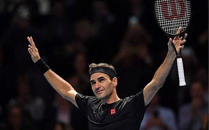 o suíço Roger Federer vence o sérvio Novak Djokovic