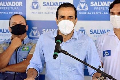 Prefeitura quer concluir vacinação dos grupos prioritários até quarta, diz Bruno Reis