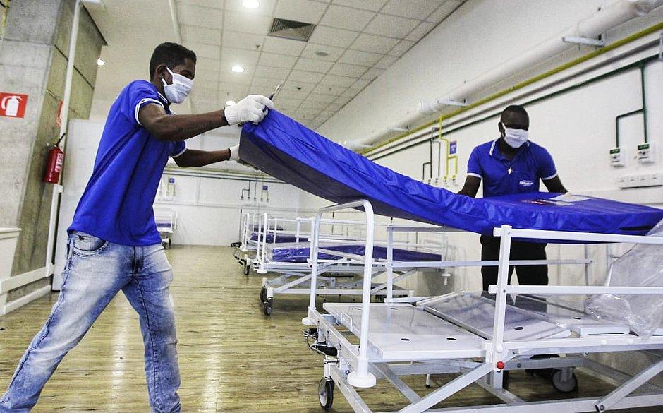 Bahia abrirá novos leitos de UTI após doação de mil colchões hospitalares
