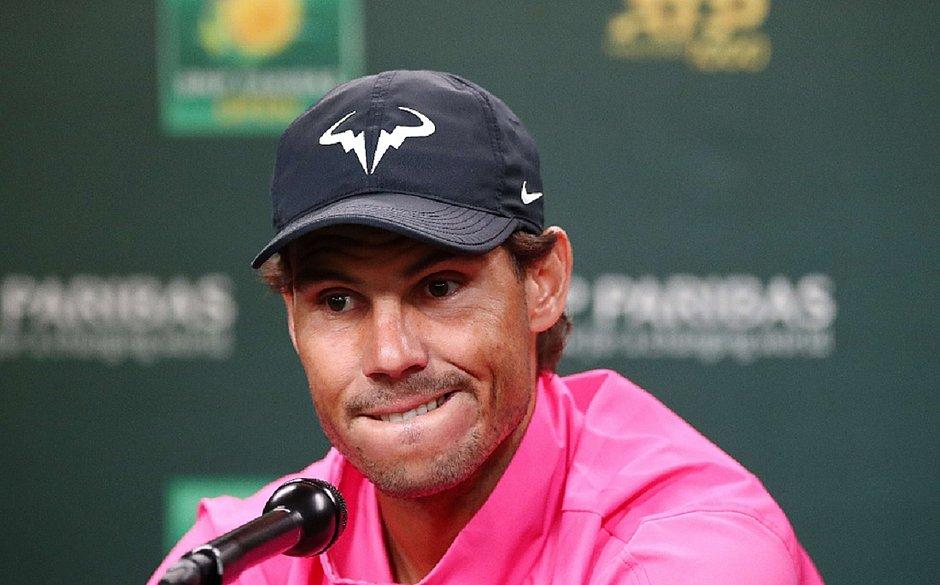 Nadal desiste e Federer vai à final em Indian Wells sem jogar