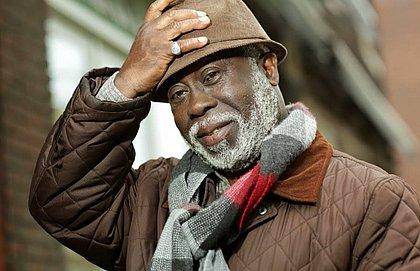 O escritor Ernerto Dabo, de Guiné Bissau