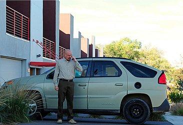 O carro virou cult depois de ser utilizado pelo protagonista da série Breaking Bad