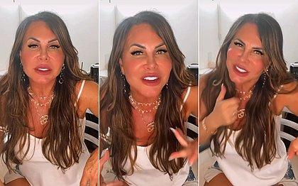 'Não pareço mesmo mais comigo', diz Gretchen ao rebater críticas por mudanças no rosto