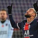 Neymar anotou hat-trick no jogo contra o Istanbul Basaksehir