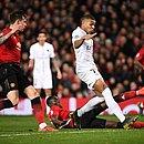 Mbappé marca o segundo gol do PSG no Old Trafford