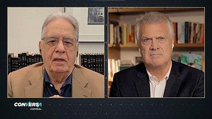FHC classifica como 'erro' não ter tomado conhecimento de Bolsonaro