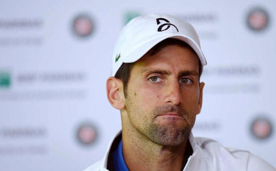 Novak Djokovic anunciou o fim da parceria com treinadores