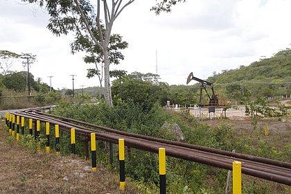 Poço operado pela Petrobras em Alagoinhas