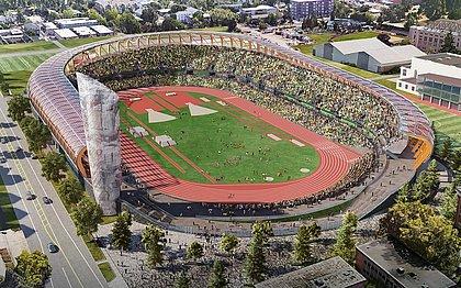 Hayward Field, em Oregon, receberá o Mundial