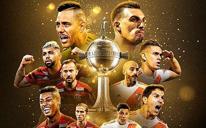 Elencos de Flamengo e River Plate juntos valem R$ 1,3 bilhão