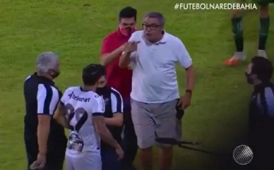 Presidente do Vitória, Paulo Carneiro é suspenso preventivamente pelo STJD