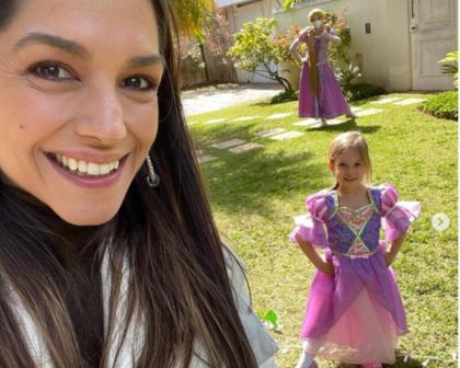 Thais Fersoza e Michel Teló comemoram 5 anos de Melinda, filha mais velha do casal