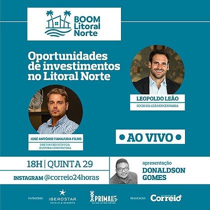 Política & Economia acontece às 18h no @correio24horas