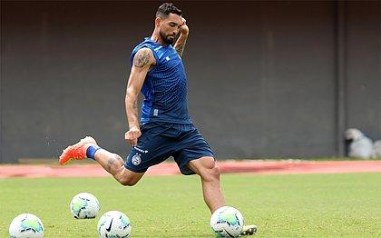 Gilberto é o artilheiro do Bahia na temporada 2020 com 17 gols
