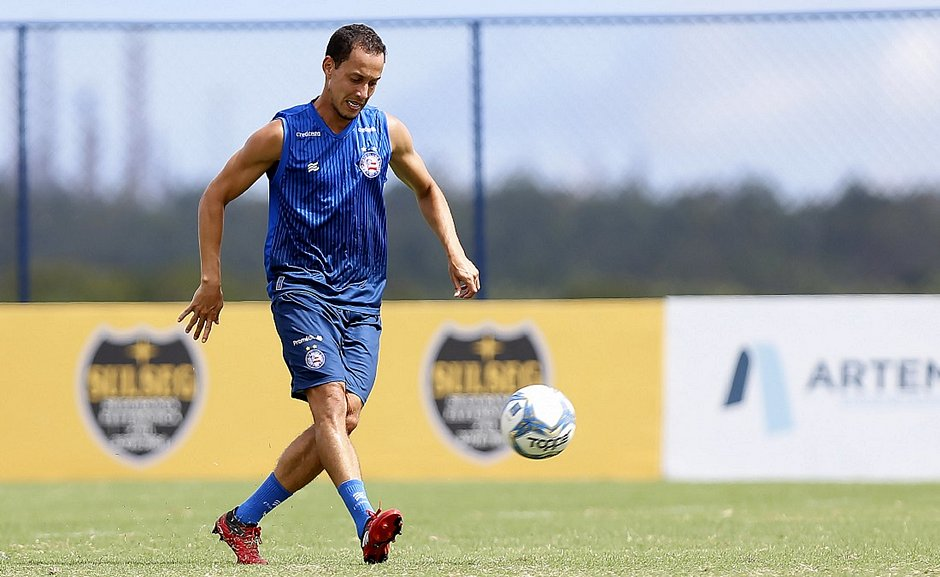 Rodriguinho conta que aproveitou tempo sem jogos para ganhar entrosamento no Bahia