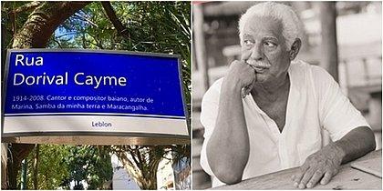 'Descaso com a memória', diz Danilo Caymmi sobre placa de rua com erro