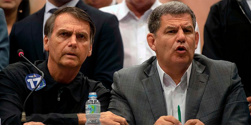 Presidente do PSL nega caixa 2 na campanha de Bolsonaro