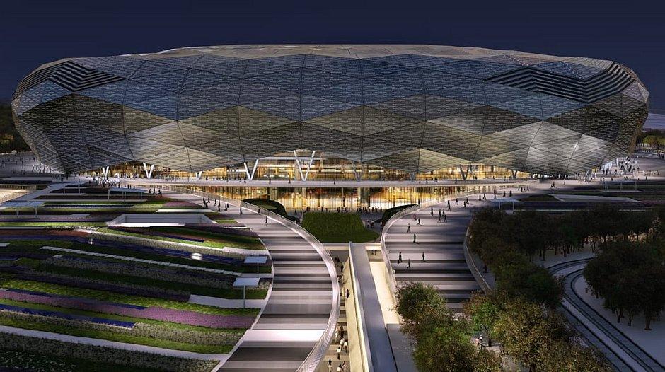 Estádio ainda não inaugurado sediará final do Mundial de Clubes
