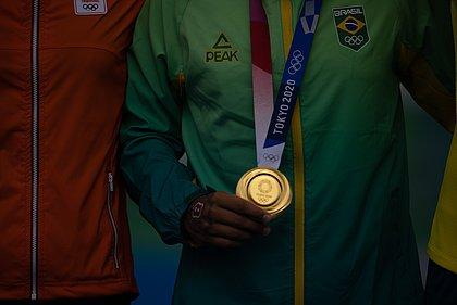 Recorde brasileiro foi uma 13ª colocação com 19 medalhas e 7 ouros no Rio-2016