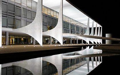 Fachada do Palácio do Planalto