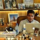 O ex-prefeito de Salvador ACM Neto