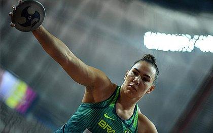 Brasil vai à final do lançamento do disco no Mundial de Atletismo