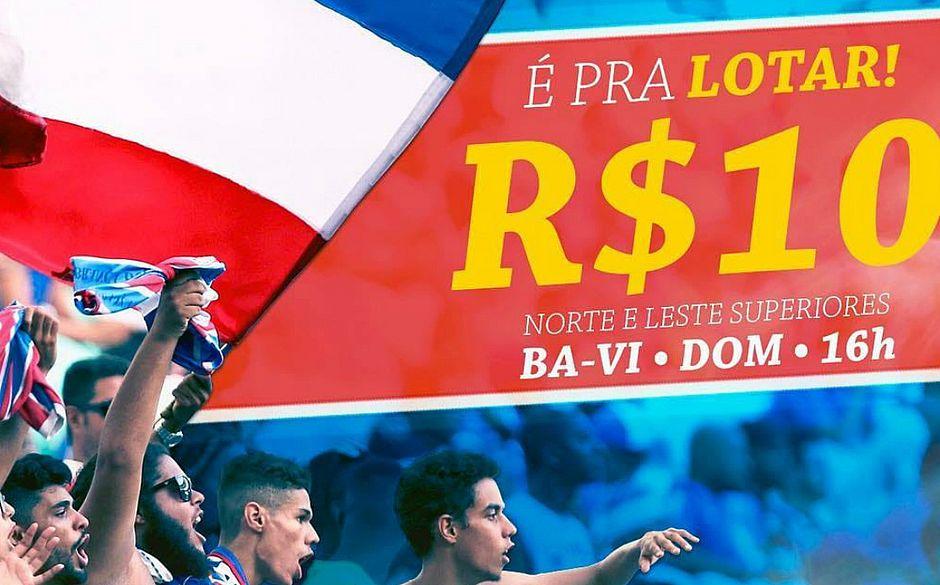 Fonte Nova deve estar lotada no primeiro jogo da final (Divulgação   EC  Bahia) 4df2becf90820
