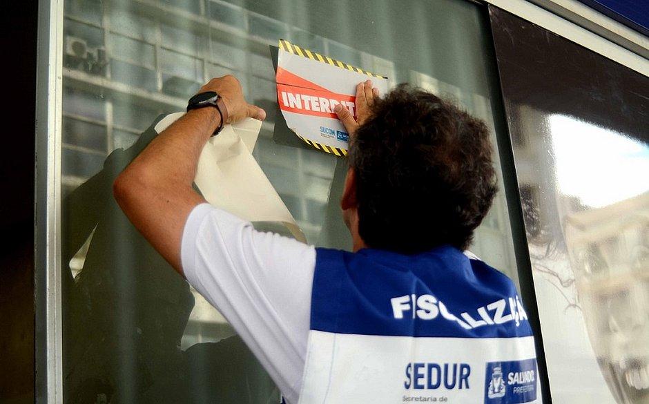 Boca do Rio, Plataforma, Pituba e Centro tiveram 285 estabelecimentos interditados