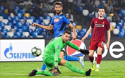 Atual campeão, Liverpool estreia com derrota na Liga dos Campeões