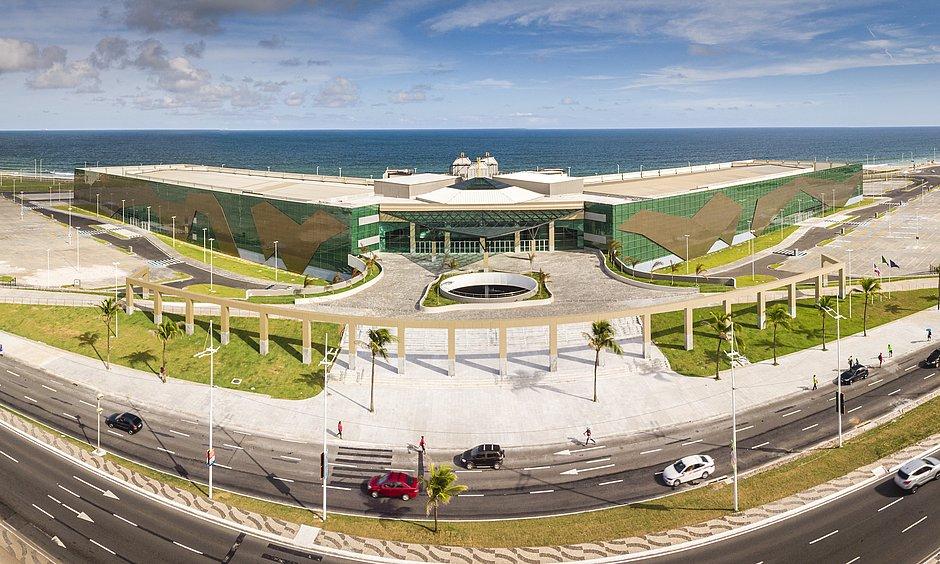 Centro de Convenções Salvador segue com atividades suspensas