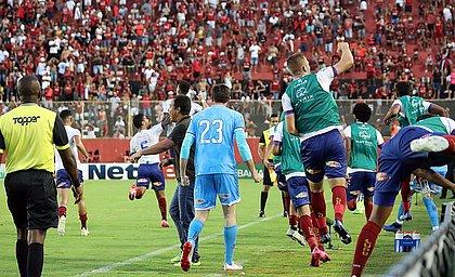 No último encontro, Bahia levou a melhor e venceu o Vitória no Barradão
