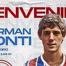 Conti estava no Benfica e chega por empréstimo até o fim da temporada 2021